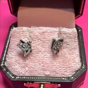 Juicy Couture vintage earrings detail butterflies